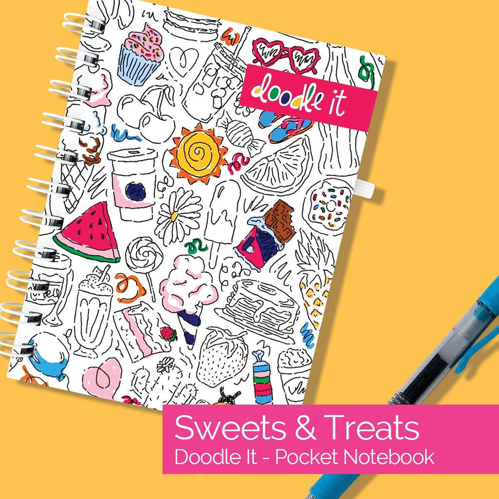 ALL-NEW! Pocket Notebooks | List, Plan, Doodle | 3 Styles