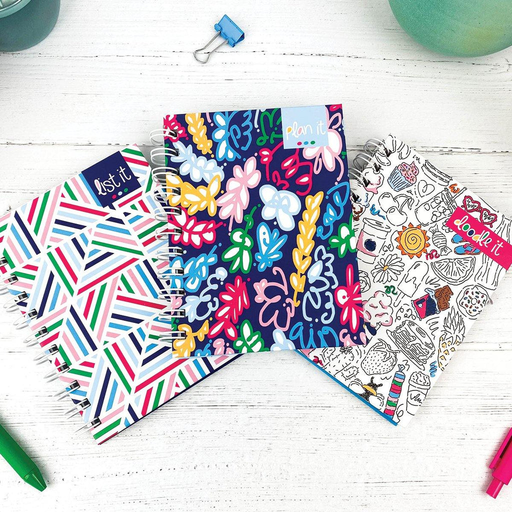 Pocket Notebooks Bundle of 3 | List, Plan, Doodle
