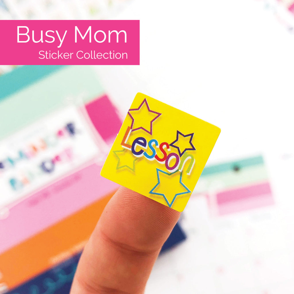 Busy Mom Stickers | Holidays, Birthdays, Home, Work, Event, Etc. | Best Planner Stickers