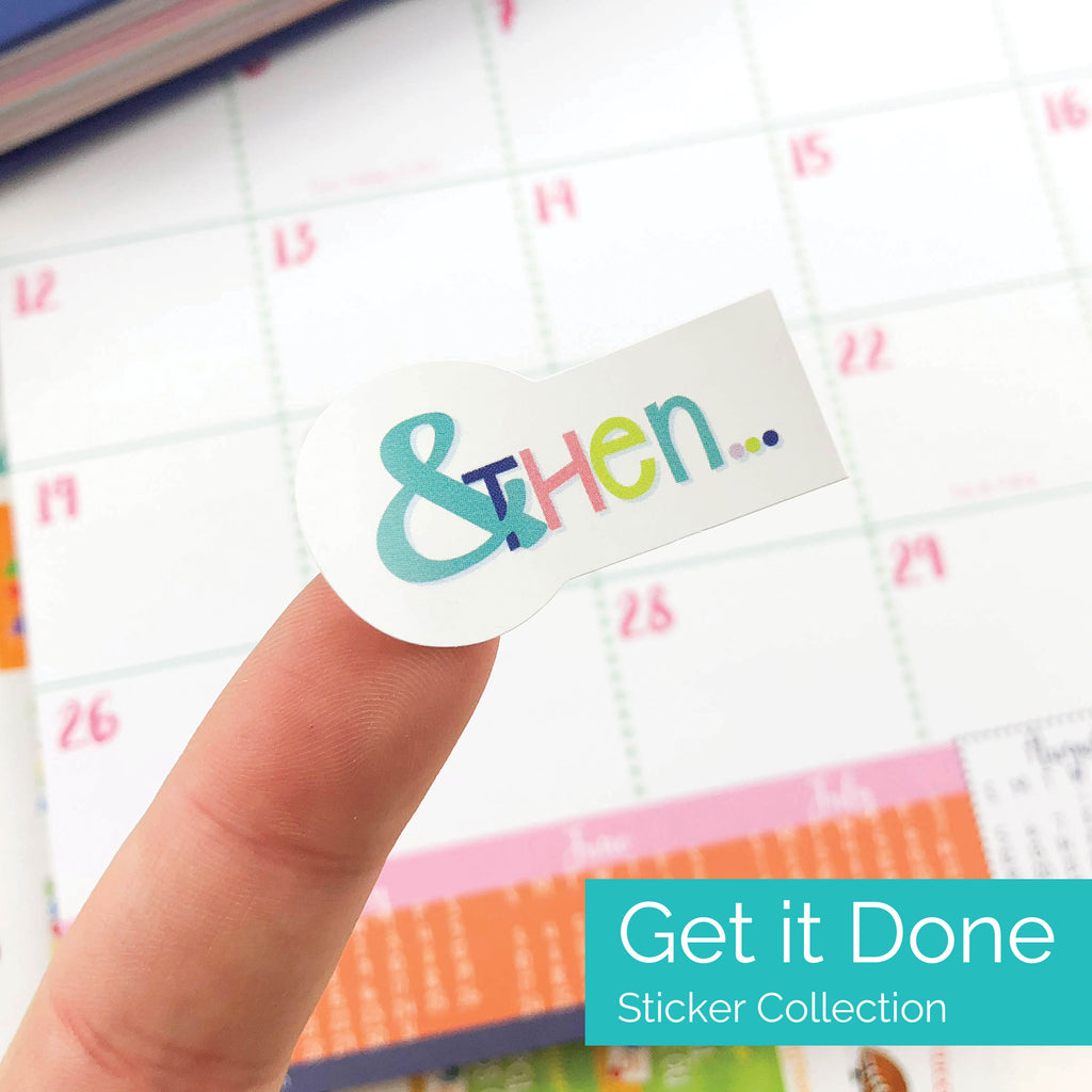Get it Done Planner Stickers - Goal Planning, Checklist, etc.