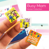Best Planner Stickers - Holidays, Birthdays, Home, Work, Party, Event Variety Set | (4) Styles