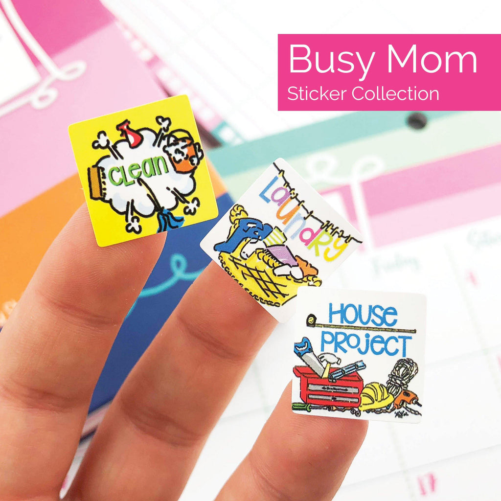 Event Planner Stickers | 1850 Stickers Epic Bundle Set | Includes all (4) sets | Fits any planner