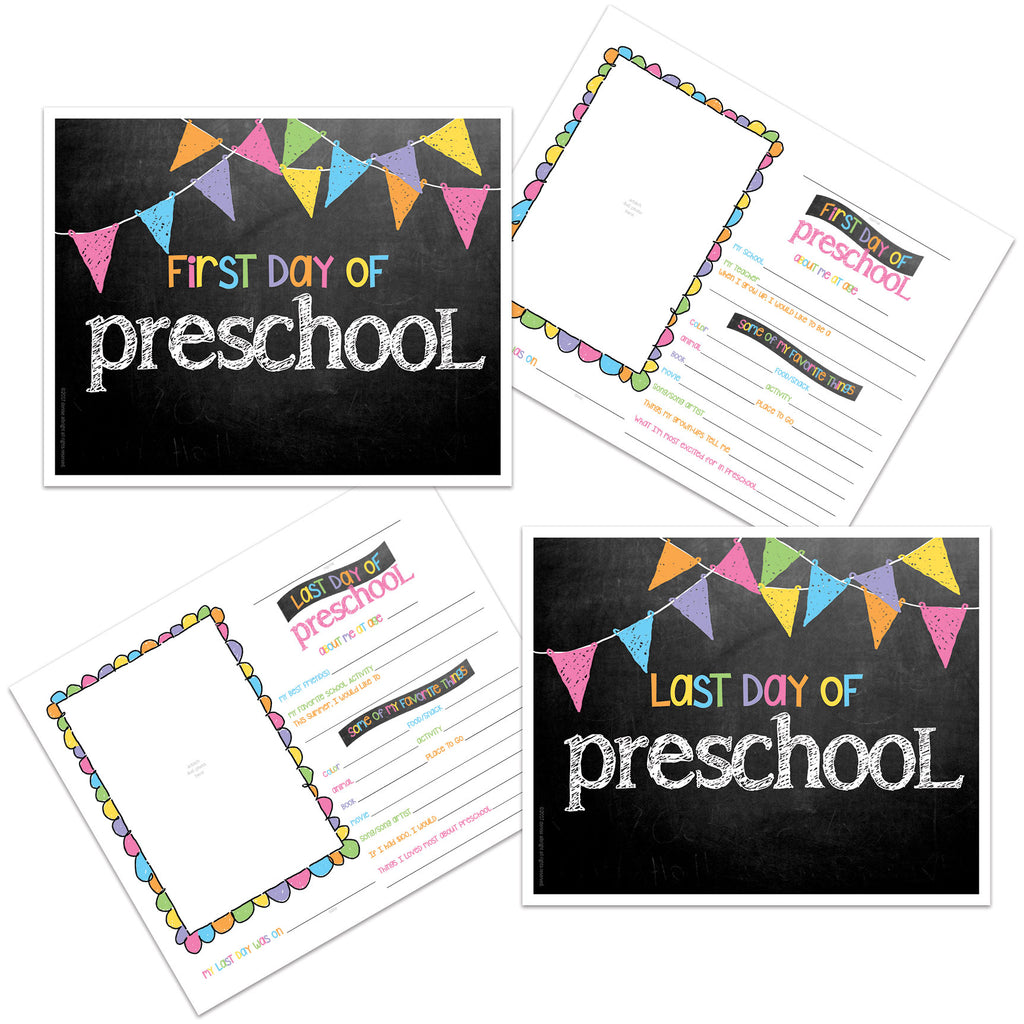 grade cards -  back to school, pictures, first day of school, prop, preschool
