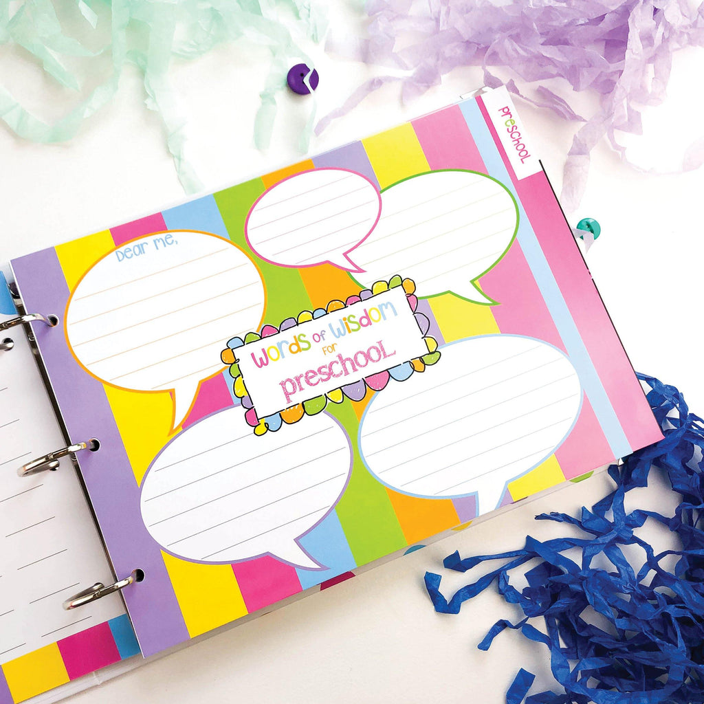 Bundle of Class Keeper® School Days Keepsake Binder + Photo Prop Deck