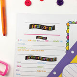 NEW! First & Last Day Extra Pages Kit for the Class Keeper® | (2) Styles
