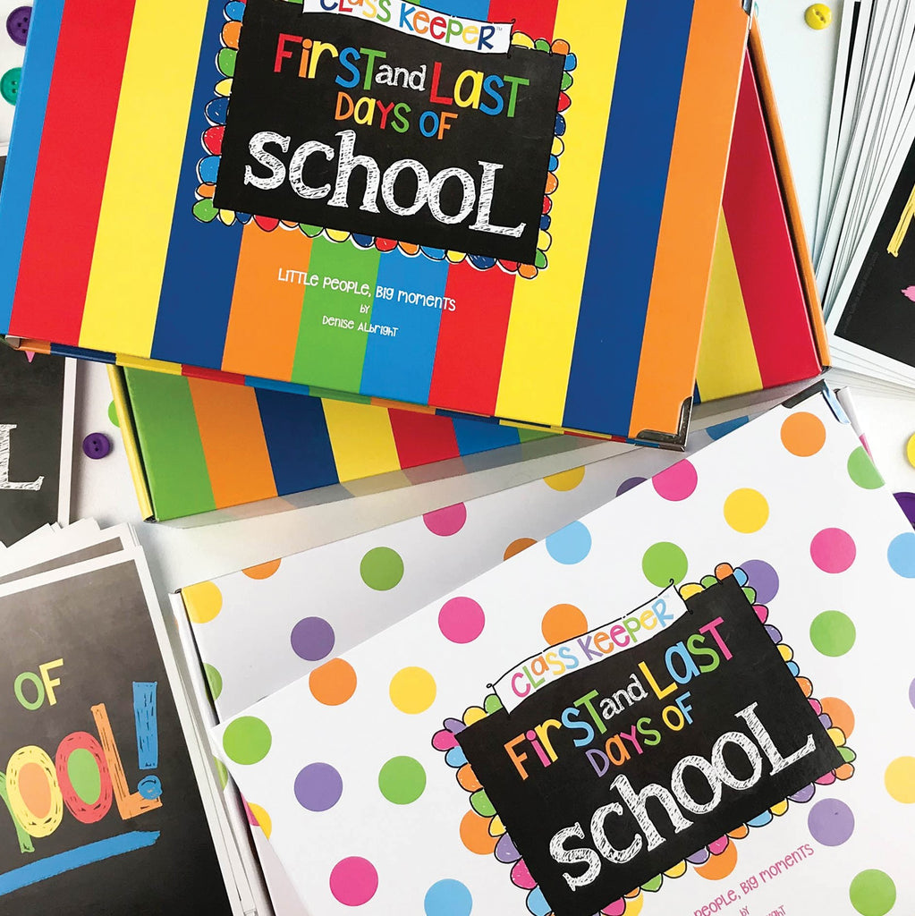 Class Keeper® Easiest School Days Memory Book | (2) Styles | Keepsake