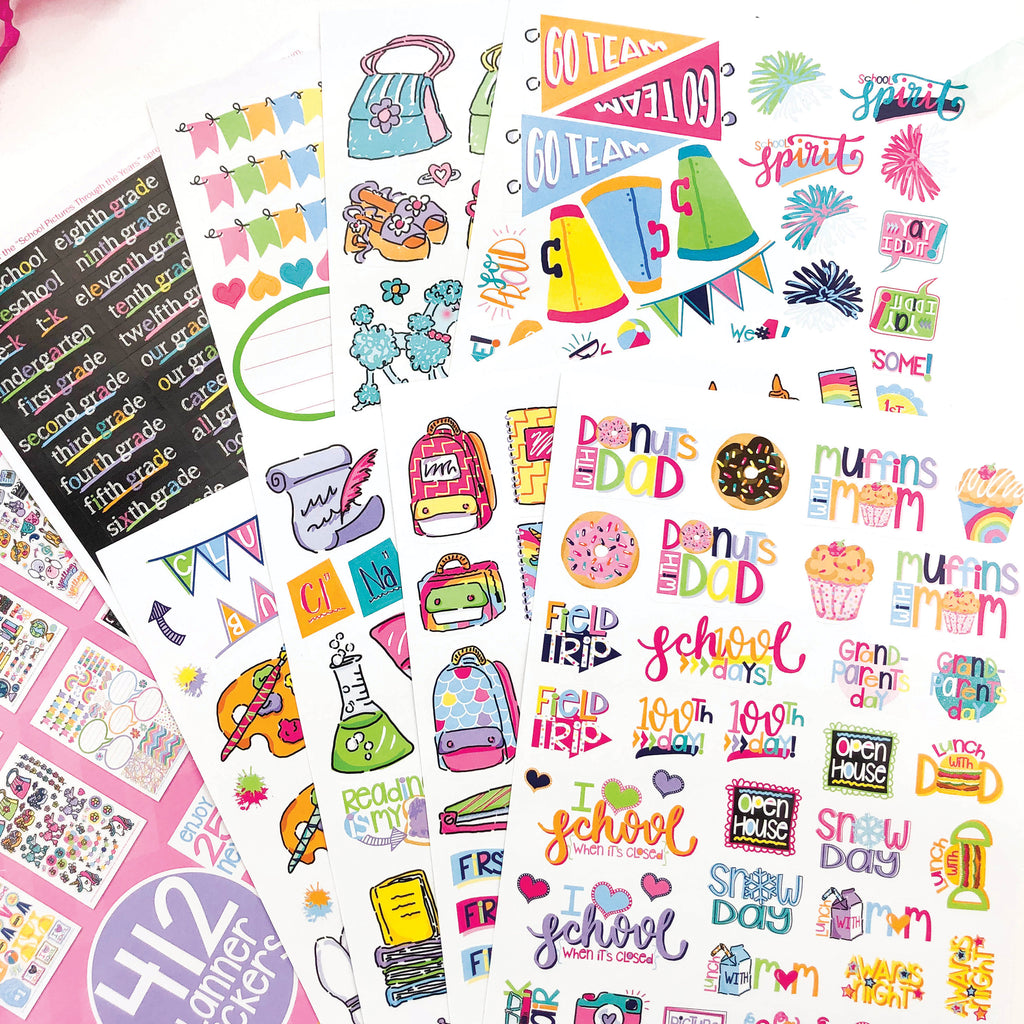 Kids School Class Keeper® Sticker Assorted Variety Set