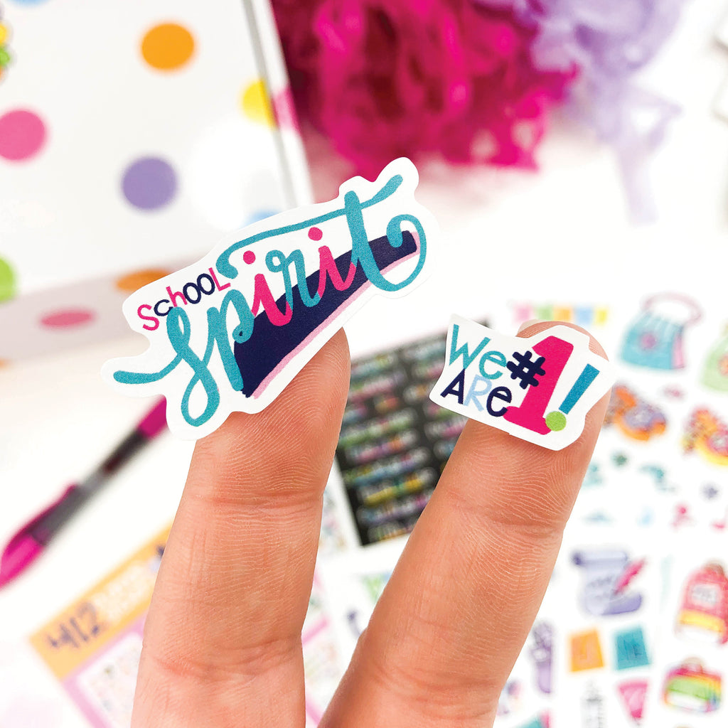 Girl Power Stickers | Kids School Class Keeper® Sticker Assorted Variety Set