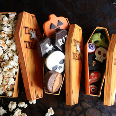 Halloween Coffin Box Treat Set (Set of 3)