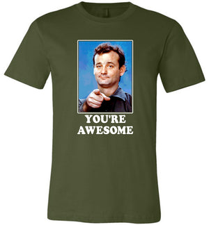 Bill Murray You're Awesome - Unisex Tee - Absurd Ink
