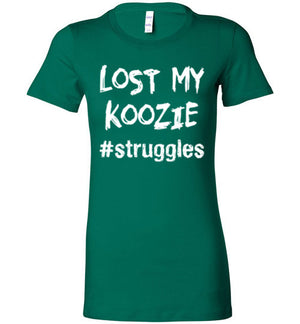struggles - Lost My Koozie - Ladies Tee - Absurd Ink