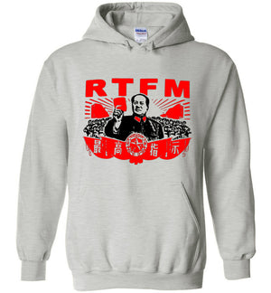 RTFM The IT Crowd - Hoodie - Absurd Ink
