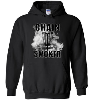 Disc Golf Hoodie - Chain Smoker - Absurd Ink