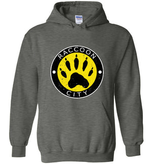 Raccoon City Paw Logo - Hoodie - Absurd Ink