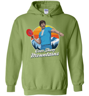Disc Golf Hoodie - Uncle Rico - Absurd Ink