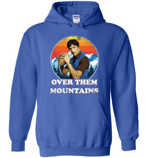 Uncle Rico Football - Hoodie - Absurd Ink