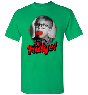 Oh Fudge - A Christmas Story - T-Shirt - Absurd Ink