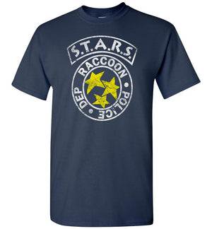 Resident Evil STARS - T-Shirt - distressed - Absurd Ink