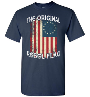 Original American Flag - Patriotic T-Shirt - Absurd Ink