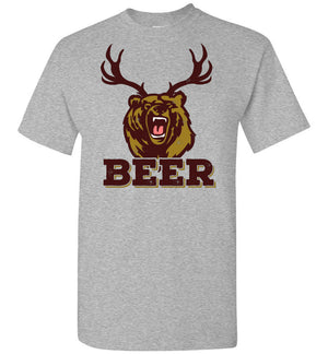 Bear Deer BEER - T-Shirt - Absurd Ink