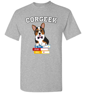 CORGEEK - Corgi T-Shirt - Absurd Ink