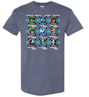 Mega Man 2 Bosses - T-Shirt