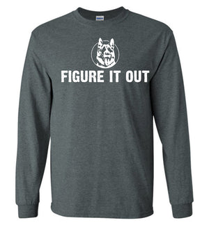 Figure It Out Letterkenny - Long Sleeve Shirt - Absurd Ink