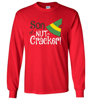 Son of a Nutcracker - Elf - Long Sleeve - Absurd Ink