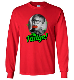 Oh Fudge - A Christmas Story - Long Sleeve - Absurd Ink