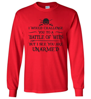 Princess Bride Long Sleeve Tee - Battle of Wits