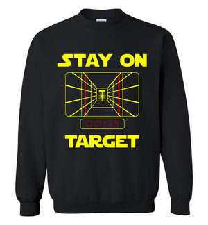 Disc golf Sweatshirt - Stay On Target - Absurd Ink