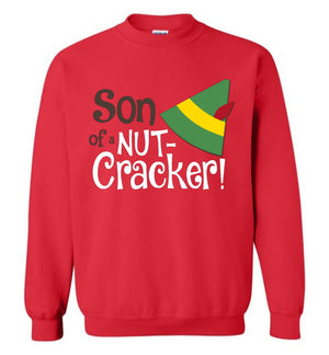 Son of a Nutcracker - Elf - Sweatshirt - Absurd Ink