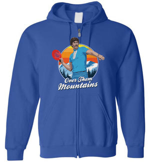 Uncle Rico Disc Golf - Zip Up Hoodie