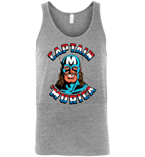 Captain 'Murica - Tank - Absurd Ink