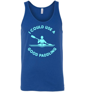 Kayaking Tank- I Could Use A Good Paddling - Absurd Ink