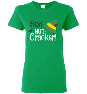 Son of a Nutcracker - Elf - Ladies Tee - Absurd Ink