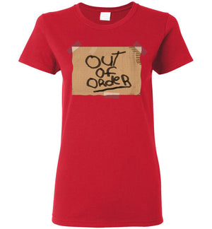 Out of Order - Ladies Tee - Absurd Ink