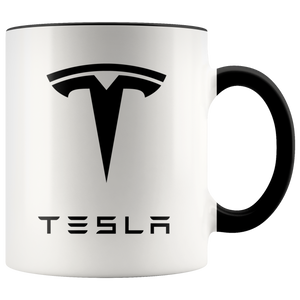 Tesla Coffee Mug - White