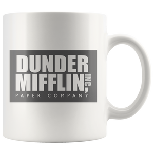 Dunder Mifflin - Coffee Mug - Absurd Ink