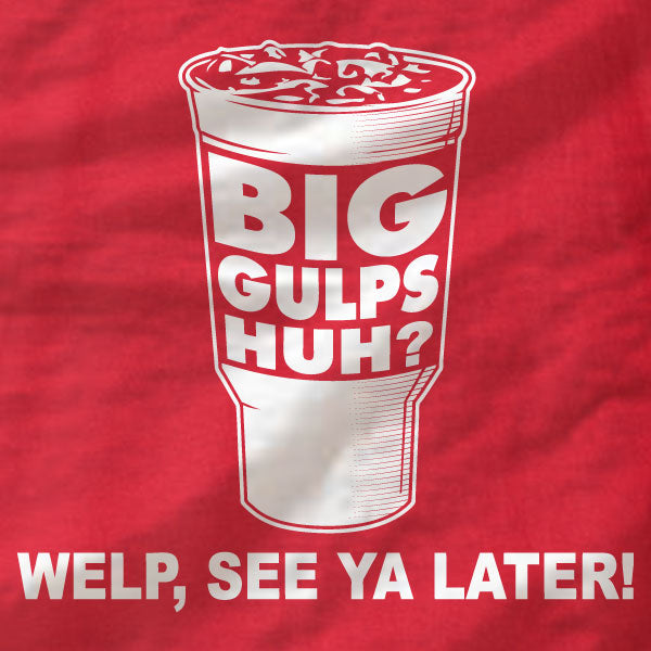 Dumb and Dumber - Big Gulps - Unisex T-Shirt - Absurd Ink