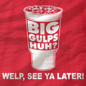 Dumb and Dumber - Big Gulps - Ladies Tee - Absurd Ink