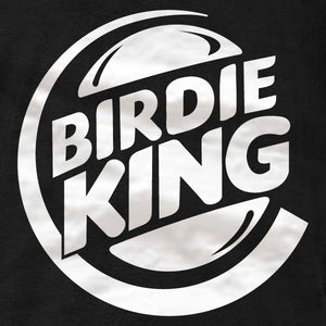 Disc Golf Shirt - Birdie King (white) - Tank Top - Absurd Ink