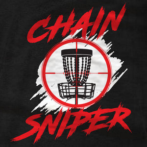 Disc Golf T-Shirt - Chain Sniper - Absurd Ink