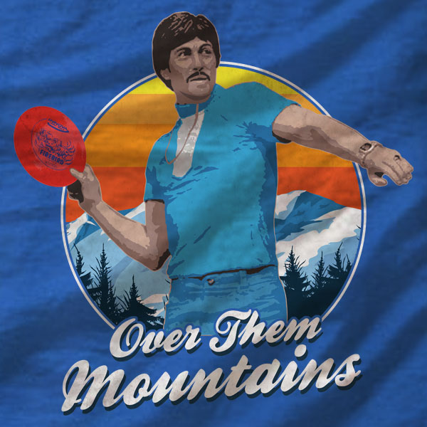 Disc Golf Unisex Tee - Uncle Rico - Absurd Ink
