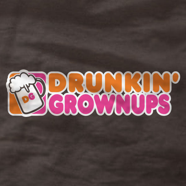 Drunkin' Grownups - Canvas Unisex T-Shirt - Absurd Ink