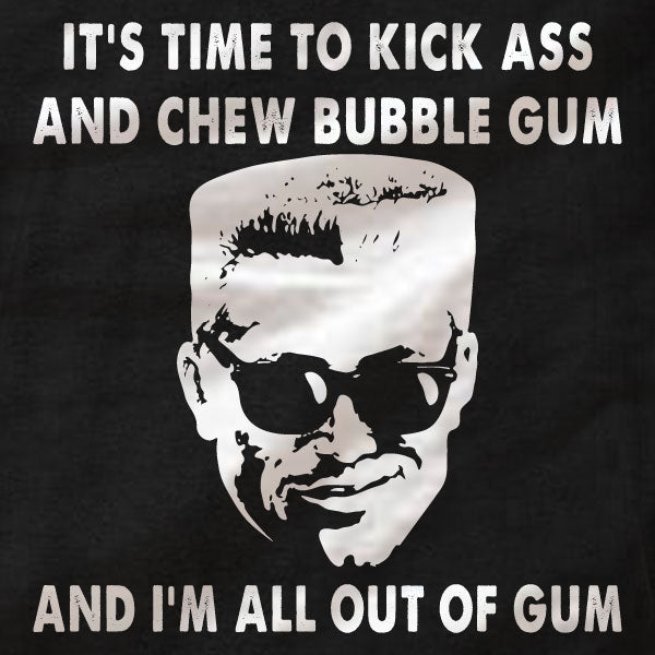 Duke Nukem T-Shirt - All Out of Gum - Absurd Ink