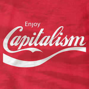 Enjoy Capitalism - T-Shirt - TL - Absurd Ink