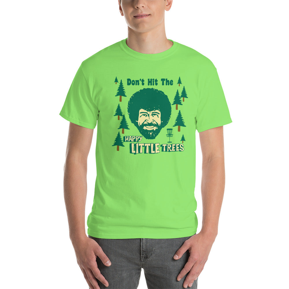 2a84cf5ca Disc Golf T-Shirt - Don't Hit The Trees - Absurd Ink
