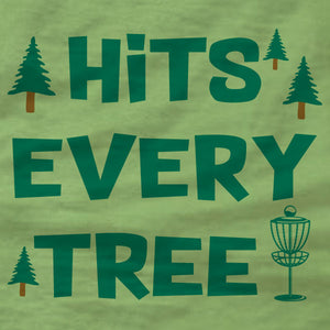 Disc Golf Tank Top - Hits Every Tree - Absurd Ink