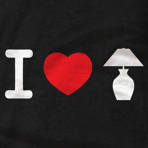 I Love Lamp - Unisex T-Shirt - Anchorman - Absurd Ink